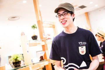 2016年入社 東京駅店店長 中村 颯一郎の画像