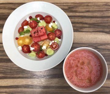 【本店】トマトとスイカのスムージーつけ麺 の画像