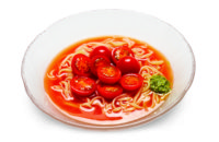 Sweet Marinated Tomato Cold Noodle