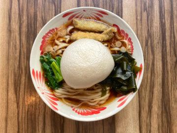 三陸生わかめの津軽煮干しラーメン