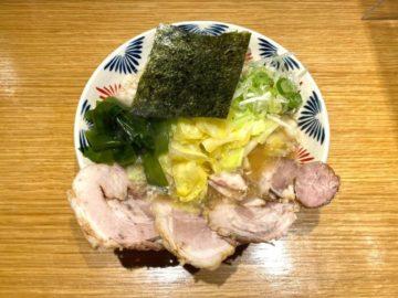 ラーメンショップオマージュ キャベツチャーシュー麺@本店